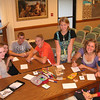 Picture of Priest/Laurel activity in July 2010 at Calvert Ward building.  Ashley Bonnet, Alex Johnson, Conner Smith, Steven Altorfer, Whitney Larson, Kate Bailey, Hannah Harkness, and Becca Larson.