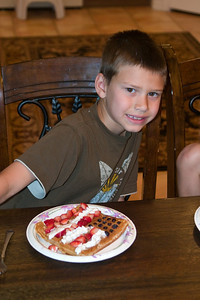 Merek and his Flag Waffle