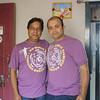 Kapish got this tshirt for both of us :)... Men in Uniform!