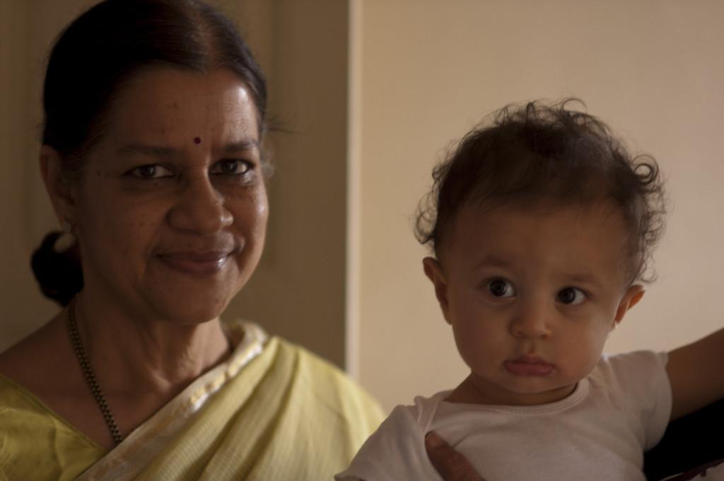 Jaya mami visiting