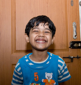 IndiaTrip-19 : His best smile for Chacha