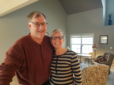 Barbara & Gary share their new Ft. Wayne, Indiana home