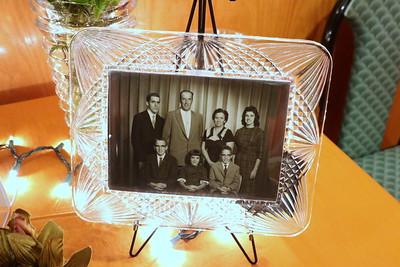 Sweitzer family portrait circa 1962