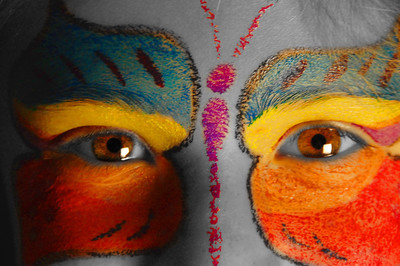 Face Paint with Color Edits