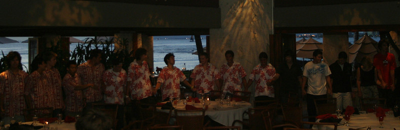 Iolani Water Polo Dinner