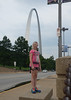Next stop was the Gateway Arch in St. Louis