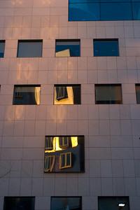 Reflections of the Stata Center.