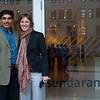 Me and Erin outside the Sundaran Tagore Gallery in NYC where she is a Graphic Artist.  They have a new exhibit that we got a sneak preview of.