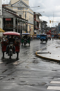 downtown Iquitos