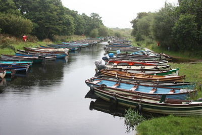 Lake boat rentals by the Ross Castle