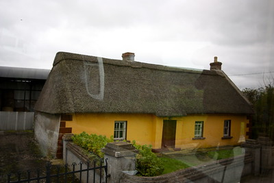 Reed roofed house... stronger than thatched
