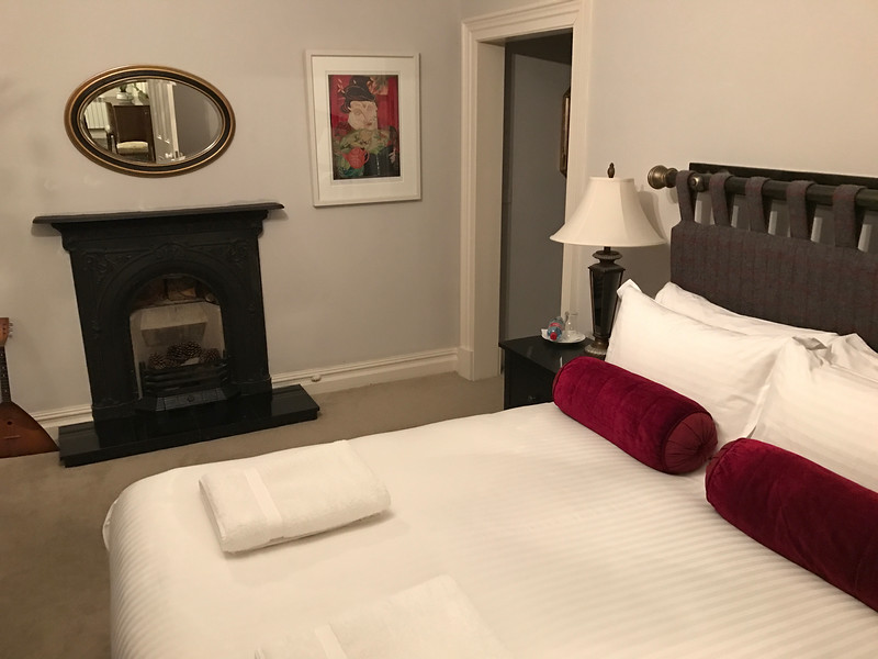 Wonderful room at Kells Bay House & Gardens