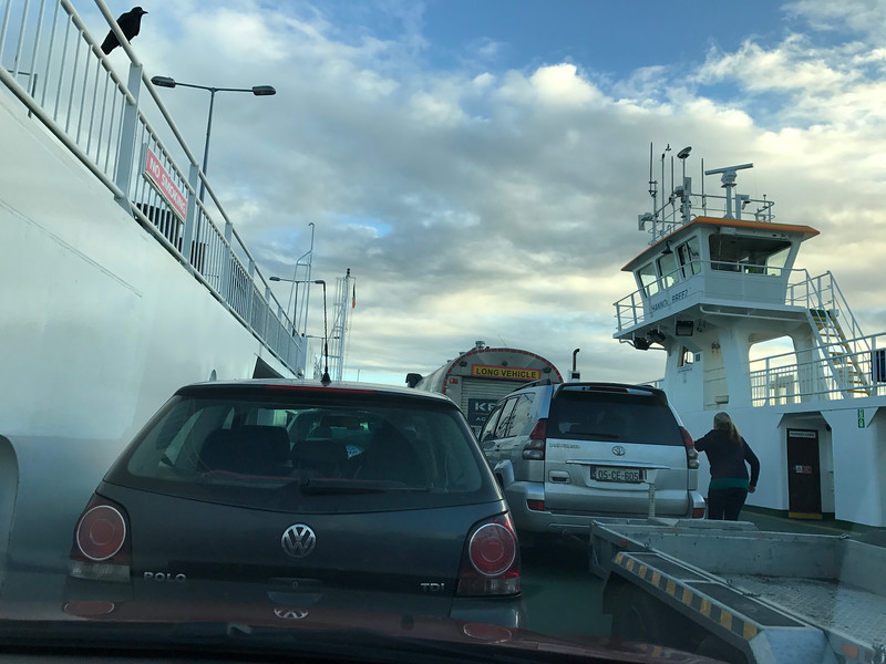 Barely made the next to last ferry to the Dingle area.