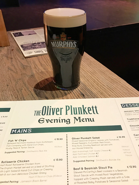 Enjoyed a fun evening at Oliver Plunkett's in downtown Cork.