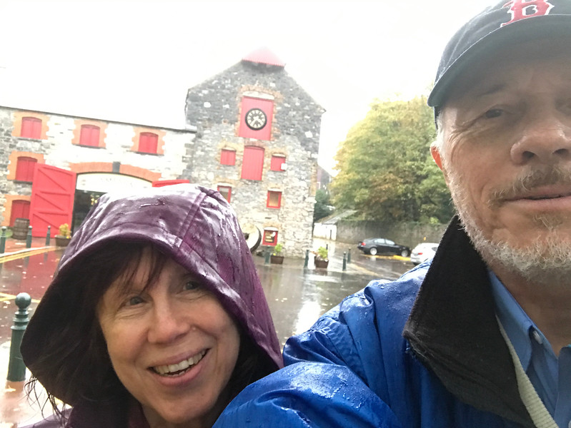 Perfect distillery touring weather!