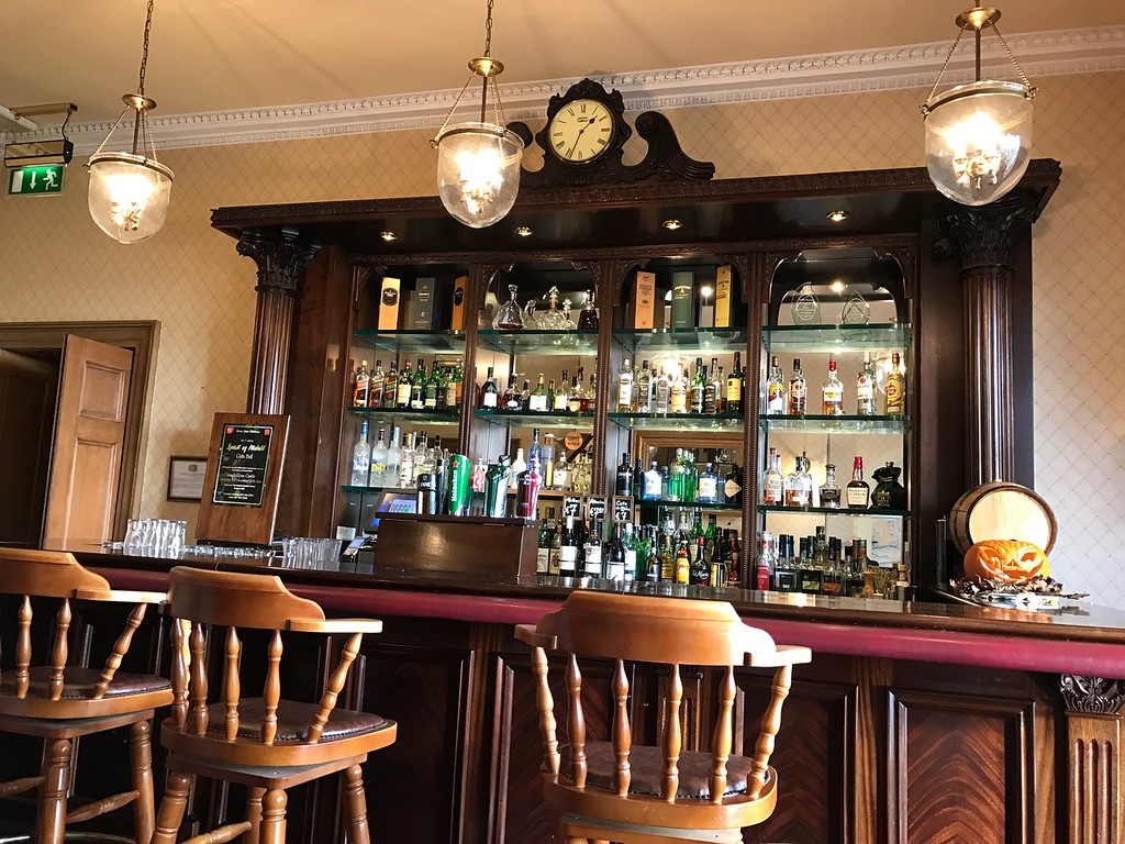 Pub in Lough Rynn Castle.