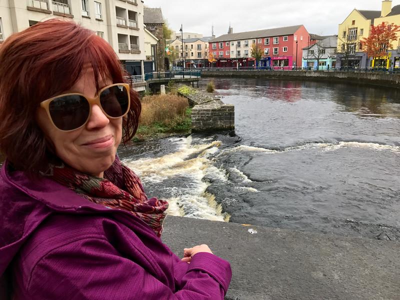 Gravogue River running through downtown Sligo.