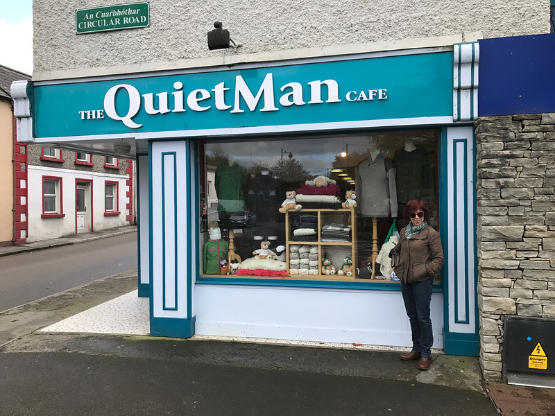 """Made it to Cong, Ireland, where the film """"The Quiet Man"""" was made."""