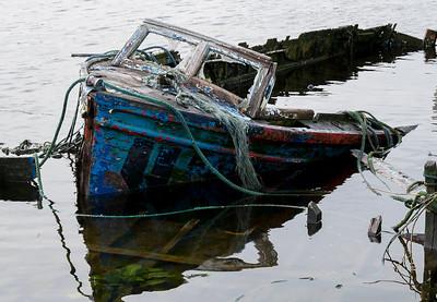 Dead boat.