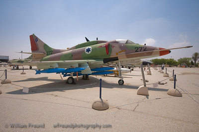 A4 Skyhawk.  Modified for use by the IAF.  A true little workhorse.