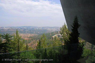 View of Mevaseret Zion from Yad Vashem, Jerusalem, Israel.