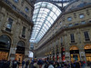 In the famous Galleria Vittorio Emanuele