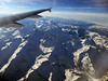 It was a super scenic day to fly over the Swiss Alps