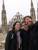 On the roof of the Duomo