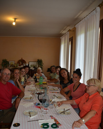One of Jessie's teammates at Florida International University's volleyball team is from Padova. She invited us for lunch with her family.  Sweet :)