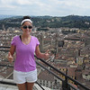 The view over Florence from the top of its duomo :)