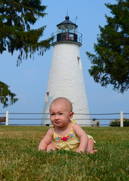 061211<br /> Izabella at Concord Point Lighthouse<br /> <br /> Took Kirby and Izabella for a ride yesterday afternoon. She was much more interested in the grass than looking at us to have her picture taken.