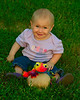 082511<br /> Izabella & Her Froggy Friend