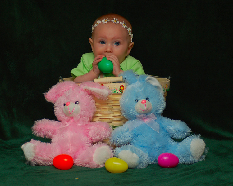 042411<br /> Happy Easter from Izabella and Some Bunnies.