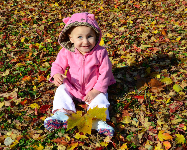 111111<br /> Izabella in the Leaves