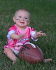 081111<br /> Izabella getting ready for the Ravens first exhibition game.