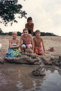 The Sand Castles Gang