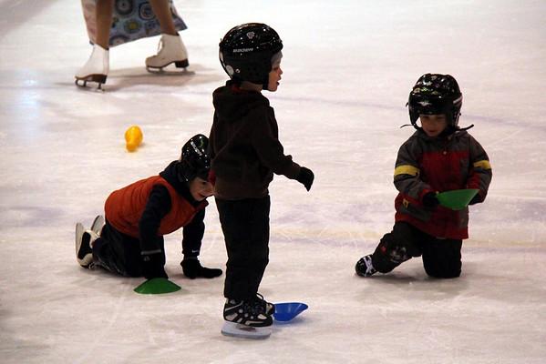 Jérémie au patin - Nov. 2012