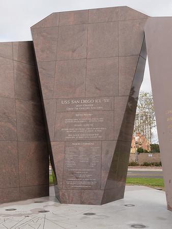 USS San Diego / WWII memorial