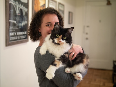 Carolyn holding Felicia