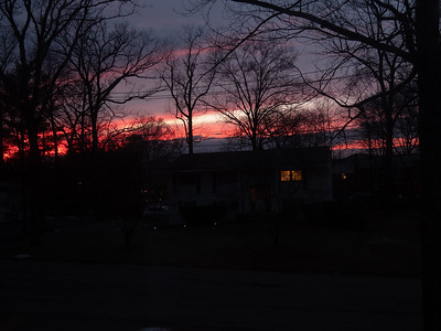 Sunset, 5:24 PM