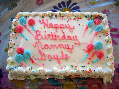 NANNY GAYLE'S BIRTHDAY MAY 2007