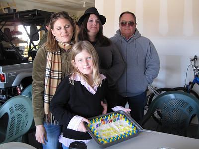 2008 Sierra, Rachel, Liz & Daryl Birthday