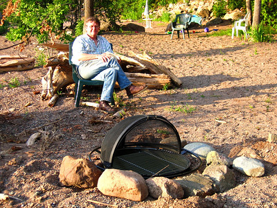 CREATING A FIRE PIT - 2008