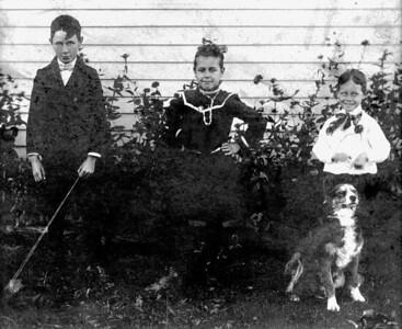P.A. (Phillip Amos), Edith and Frank Eunice.