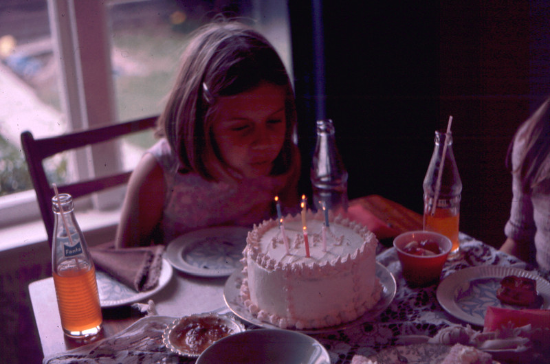 7th birthday, 1975