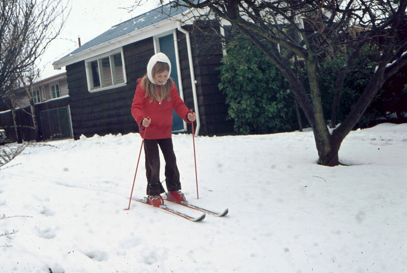 Big snow, June 1976