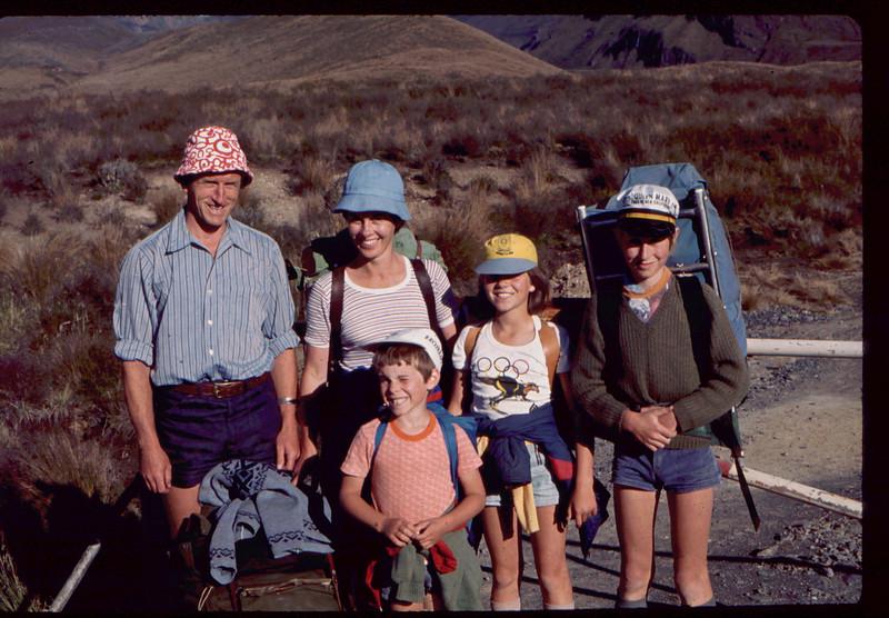 Tongariro Tramp 1978