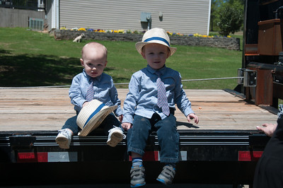 Easter - Breyden (age 2) and Lucas (10 Months)