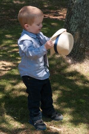 Easter - Breyden (age 2)