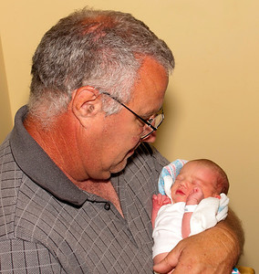 Newborn with Grandpa